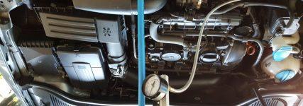 Verrußung Benzin-Direkteinspritzer