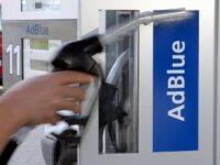 Zapfpistole an AdBlue-Tankanlage